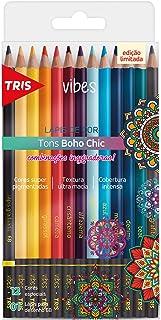 Lápis De Cor Vibes - Tons Boho Chic - 12 Cores + 1 Lápis 6B - Tris