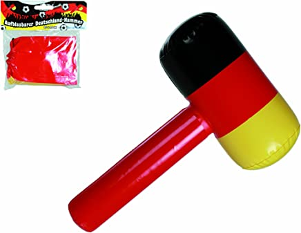 Desconocido Generic Inflatable Hammer Flag of Germany -2018 World Cup