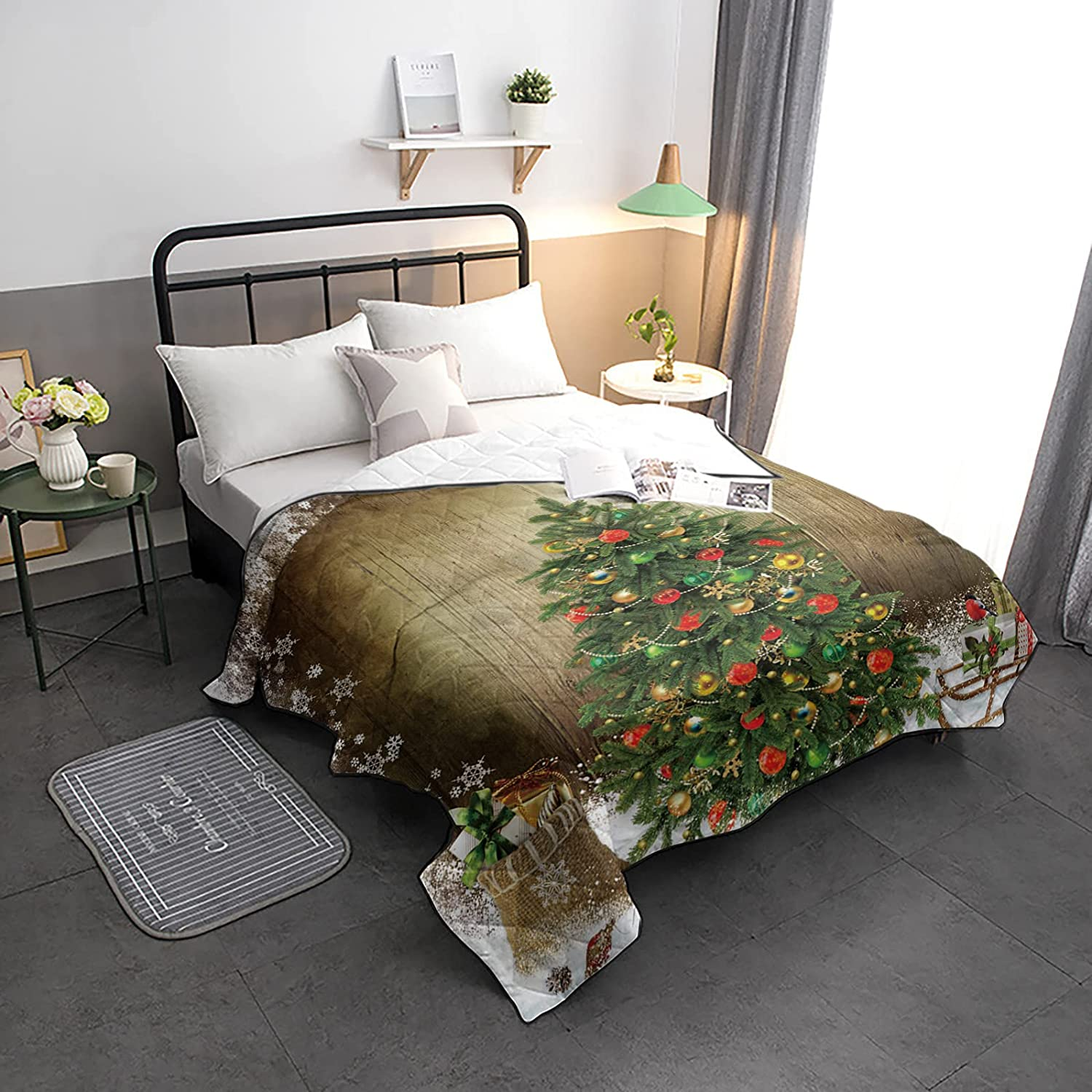 HELLOWINK Selling SEAL limited product Bedding Comforter Duvet Size-Soft Lighweight Twin Qu