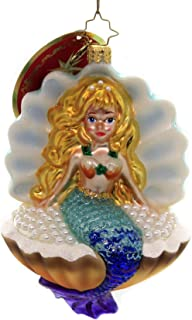 Christopher Radko Collecting Pearls! Christmas Ornament