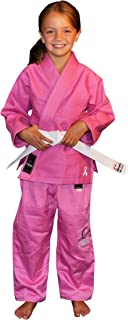 Fuji Kid's BJJ Uniform, Pink