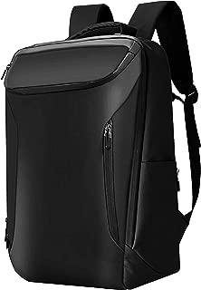 Fabuxry ビジネスリュック メンズ バックパック 30L大容量 防水素材使用 通勤、通学、旅行、出張、カジュアル用 黒ブラック USBポート付き 17インチPC対応