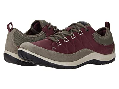 ECCO Sport Aspina Hydromax Low (Warm Grey/Wine) Women