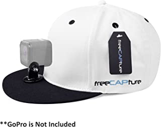 Hat Compatible with Removable GoPro Camera Head Mount - Hero Action Camcorder HD Edition – Go Pro 4 Silver, 3 + Black, 2 White, 1- Helmet Accessory Strap Caps Harness Studio