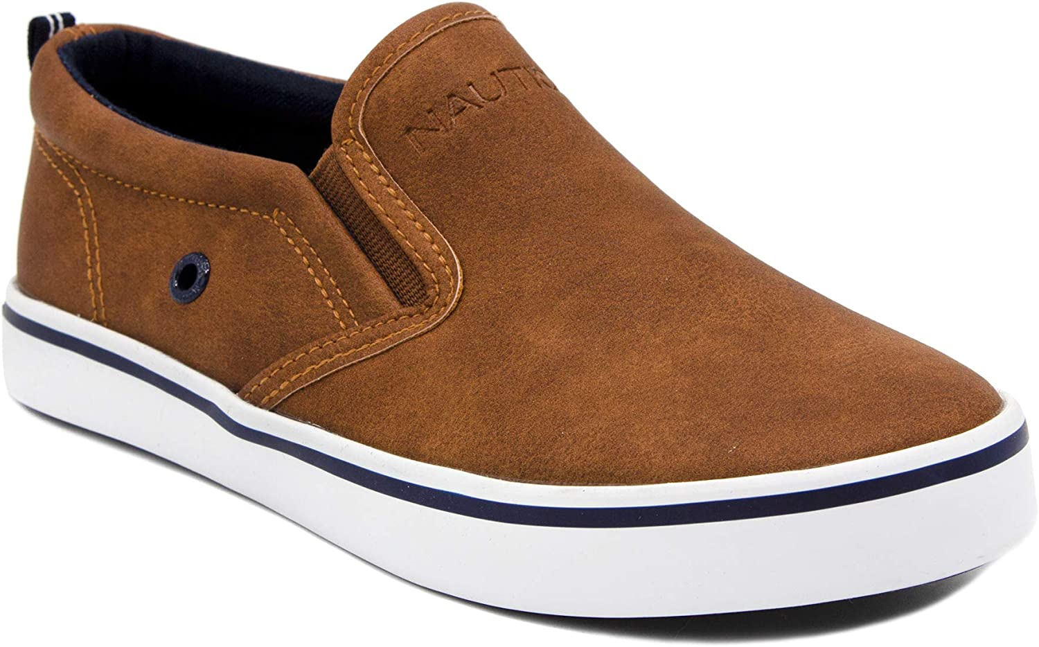 Nautica Kid's Slip-On San Jose Mall Casual Shoe Sneaker Youth-Toddl Athletic Direct sale of manufacturer -