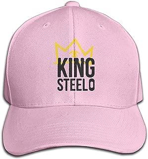 Unisex Capital Steez Pro Era King Hip Hop Adjustable Cap Ash