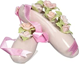 Cosmos 96455 Fine Porcelain Ballet Slippers Figurine, 2-Inch