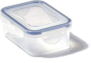 LocknLock PP Classic förvaringsbox, 350 ml, 135 x 102 x 52 mm, 100 % luft- och vattentät, smart förslutningssystem, matför...