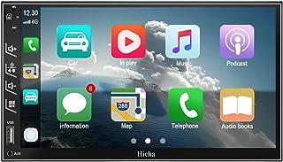 Hieha Double Din Car Stereo with Bluetooth Car Audio...