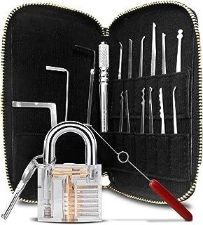 Amazon com: Lock picking set - Tool Sets / Hand Tools: Tools