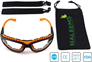Onion Goggles Tear Free - Anti Fog - Anti Scratch - One Size Fit All - Stylish Orange Glasses for Cutting and Cooking - Onion Mask Cooking Goggles