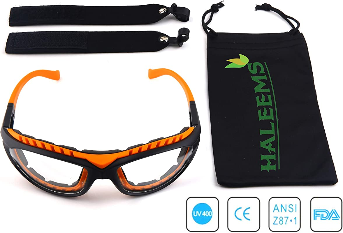 Onion Goggles Tear Free Anti Fog Anti Scratch One Size Fit All Stylish Orange Glasses For Cutting And Cooking Onion Mask