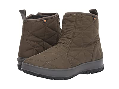 Bogs Snowday Low (Dark Green) Women