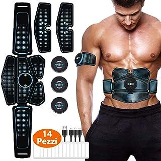 Electroestimulador Muscular Abdominales,Electrodos para