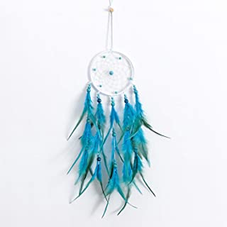 Without lamp BIRETDA Indian Girl Dream Catcher Pendant Ornaments Handmade Dream Catcher Girl Birthday Graduation Gift Wind Chime Pendant