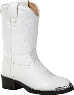 youth white cowboy boots