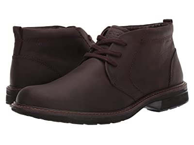 ECCO Turn Chukka Waterproof Boot (Coffee) Men