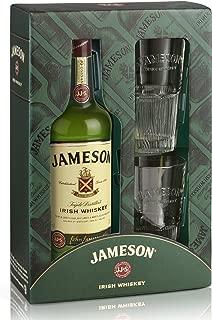 Jameson Irish Whiskey mit Geschenkverpackung mit 2 Gläsern 1 x 0.7 l