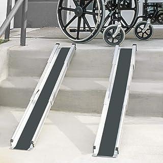 DMI Portable Wheelchair Ramp/Threashold Ramp, Adjustable, Telescoping, Retractable, and..