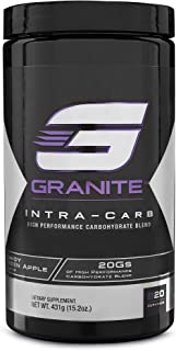 Carb Supplement by Granite Supplements | 20 Servings of Intra-Carb Strawberry Lemonade to Train Longer and Harder, With No Crash or Upset Stomach | Includes Cyclic Dextrin, Isomaltulose, and Dextrose