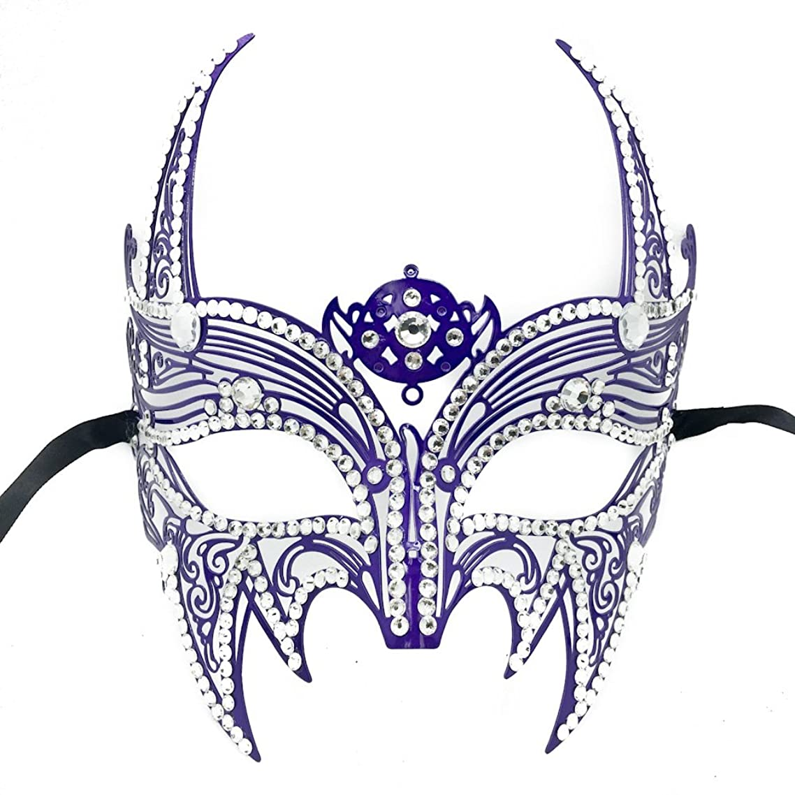 New Wolverine Men's Mask Laser Cut Venetian Halloween Unisex Masquerade Mask Costume Extravagant Inspire Design - Purple