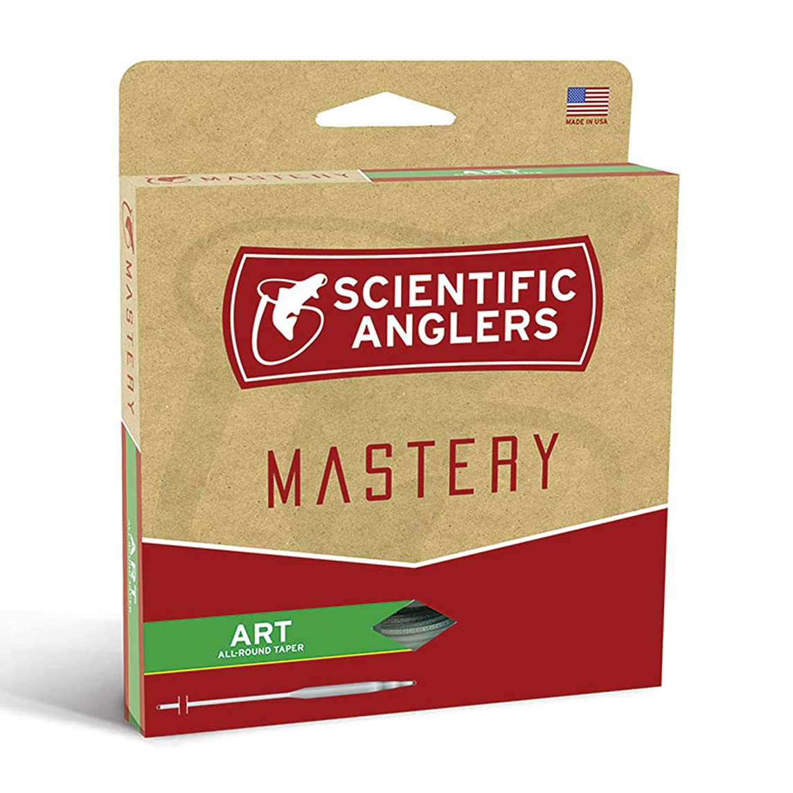 Scientific Anglers Mastery Art (All-Round Taper) Fly Line WF6F