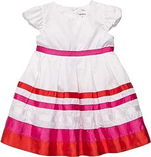 Dress - Orange/Pink Stripe-9 Months