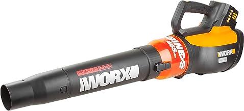 WORX WG591 Turbine 56V Cordless Battery-Powered Leaf Blower with Brushless Motor & TurboBoost