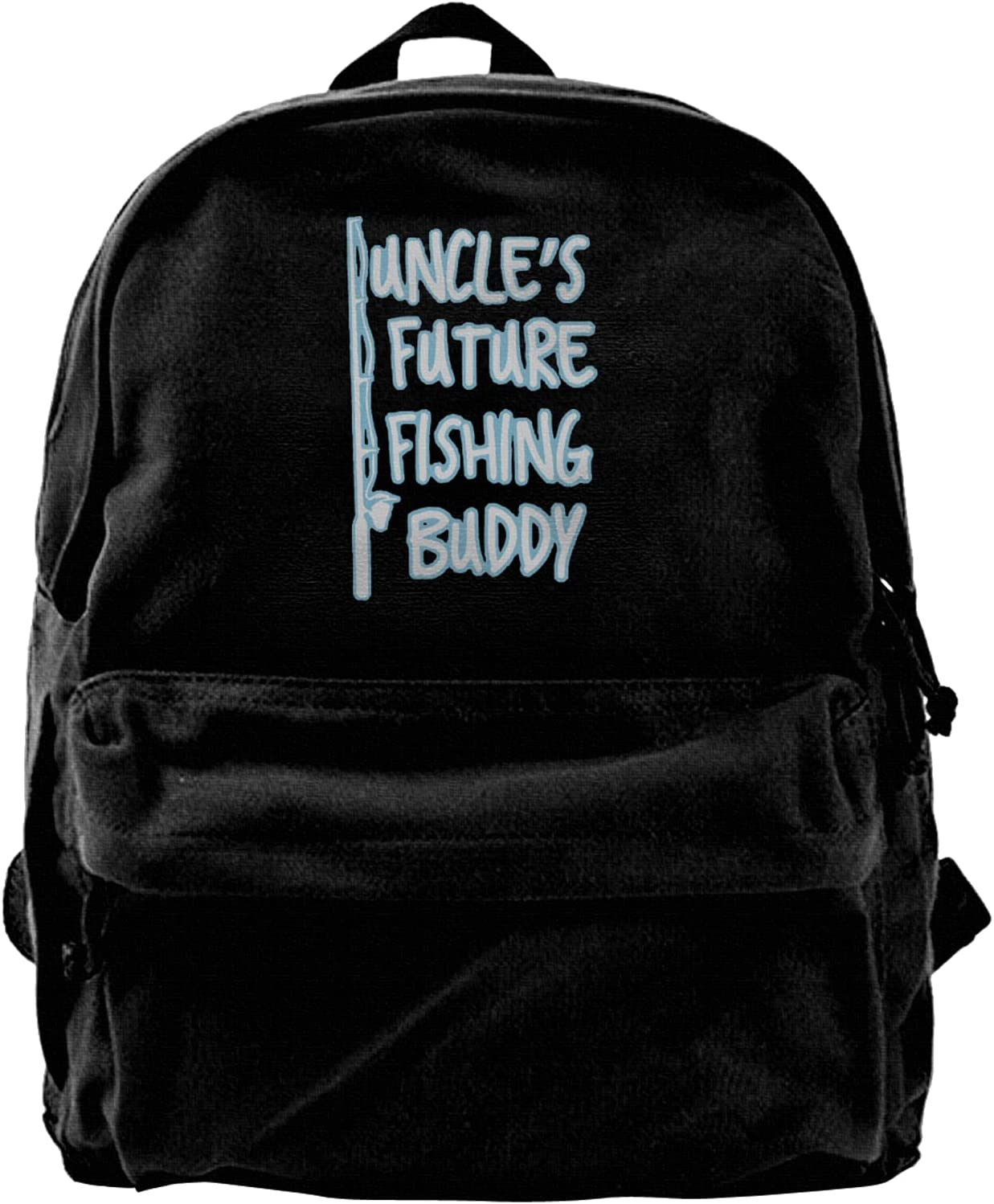Uncle'S Future Fishing Gorgeous Buddy Canvas Backpacks Laptop Bags High-C quality assurance