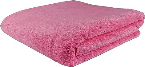 Microfiber Towel 70x140 cm Pink