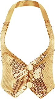 Best gold vest top Reviews