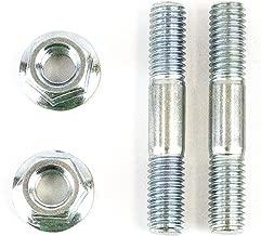 Sellerocity Brand Muffler Bolt Exhaust Stud Nut Kit Compatible with Honda GX240 GX270 GX340 GX390, OEM 90047-ZE2-000