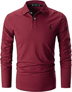 Mens Casual Slim fit Polo with Fashion Embroidery T-Shirts