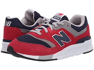 New Balance Kids 997H Essentials (Big Kid) (Team Red/Pigment) Boys Shoes