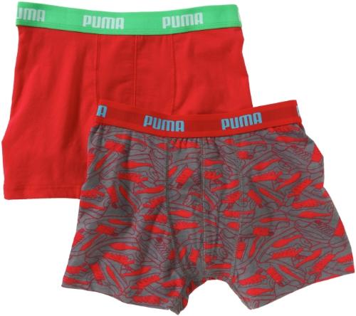 Puma Kinder Boxershort Sneaker 2P, Khaki, 164, 515002001332164
