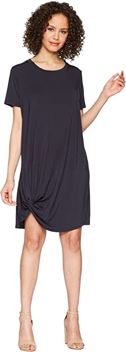 Knotted Hem Dress