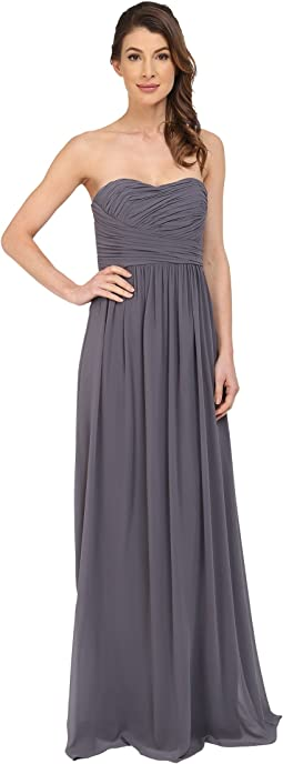 Donna Morgan - Stephanie Strapless Chiffon Gown