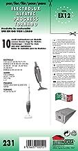 ✧WESSPER Spazzola per aspirapolveri per AEG-Electrolux ZS206 /ø32mm-38mm