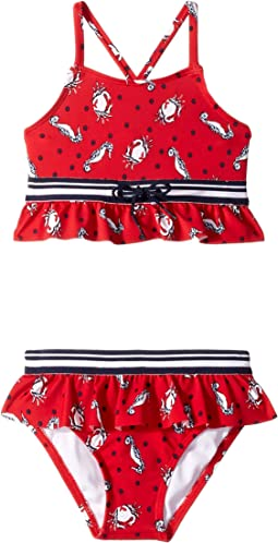 Nautical Two-Piece Swimsuit (Toddler/Little Kids/Big Kids)