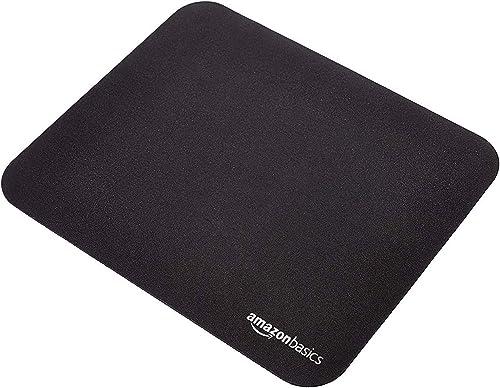 AmazonBasics Mini Gaming Computer Mouse Pad - Black