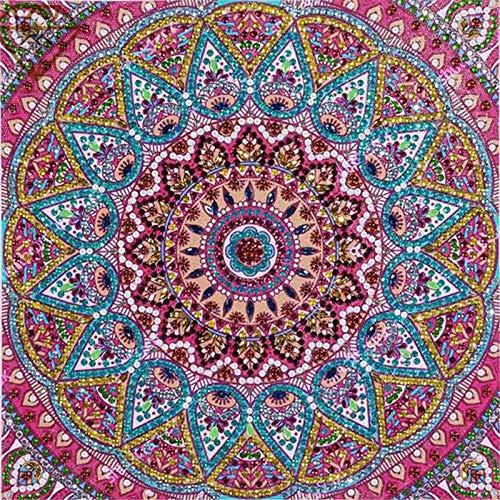 Vunxbi DIY 5D Diamant Stickerei, Mandala Diamant Malerei Stickpackungen, Kreuzstich Arts Craft für Home Wand-Decor (40x50cm)