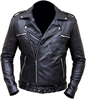 Western Leather Walking Dead Jeffrey Dean Morgan Negan Jacket