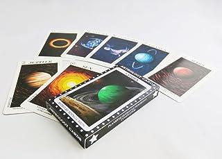 アストロロジーカード 宇宙 オラクルカード 36枚組 惑星・黄道サイン・ハウスデッキ ASTROLOGY CARDS (日本語説明紙付き)