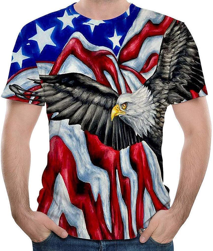 IHGTZS Men Skull 3D Printed T Shirt Plus Size S-3XL Cool Printing