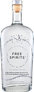 Free Spirits   The Spirit of Gin   Non-Alcoholic, 750ml, Juniper, Citrus and Cardamom notes