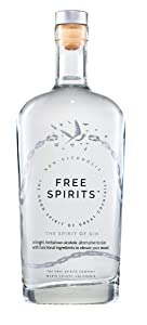 Free Spirits | The Spirit of Gin | Non-Alcoholic, 750ml, Juniper, Citrus and Cardamom notes