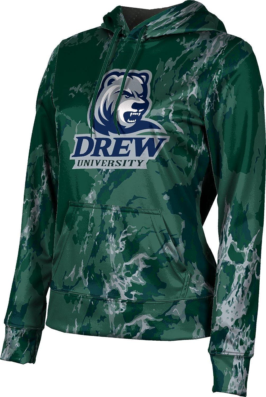 ProSphere Drew University Girls' Pullover Hoodie, School Spirit Sweatshirt (Marble)