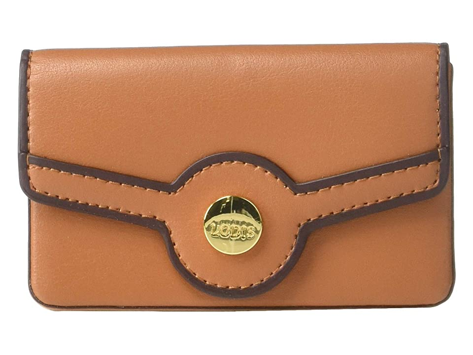 Lodis Accessories Rodeo RFID Maya Card Case (Toffee) Bags