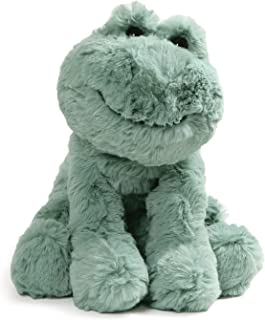 GUND Cozys Collection Frog Stuffed Animal Plush, Pale Olive, 8