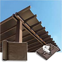 PENGFEI schaduwdoek Sunblock schaduwnet, UV-bescherming Privacy hek luifel, rand versterking duurzaam outdoor zonnescherme...